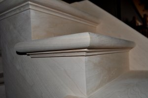 Photo of Mitred corners.